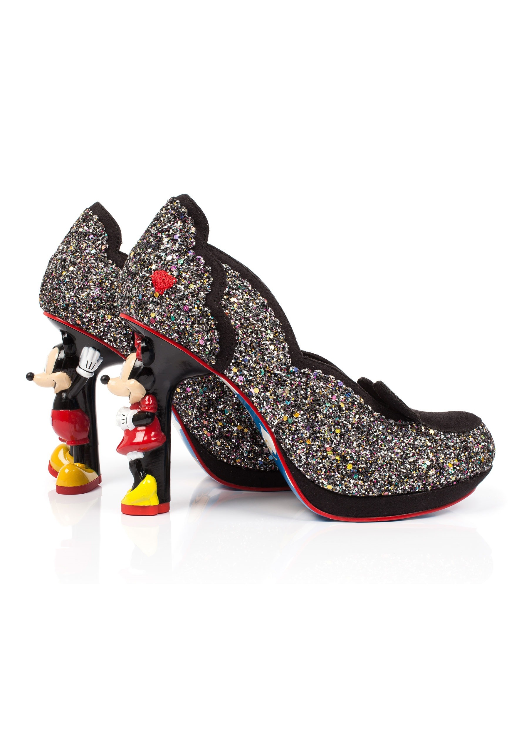 Irregular Choice MINNIE MOUSE Noir / Rouge SnYKXIiUSe