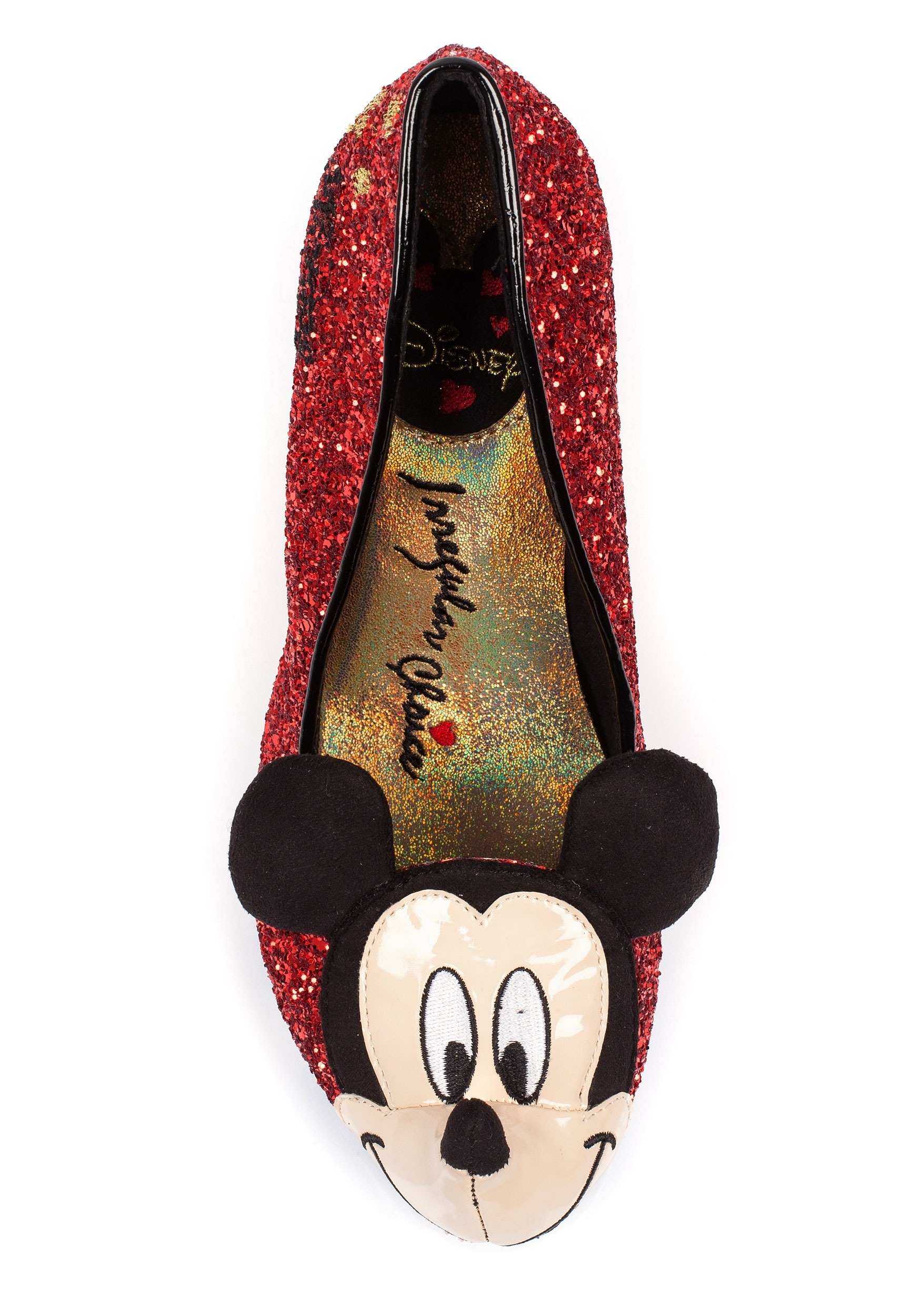 Irregular Choice Women's Mickey Mouse Closed-Toe Heels Get To Buy Online Genuine For Sale Sale New Styles IFx0mCJp