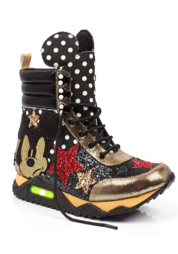 Irregular Choice Disney Mickey Gosh! High Top Sneakers
