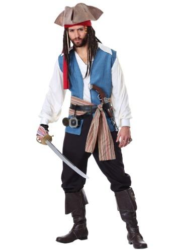 Men's Plus Size Jack Sparrow Costume