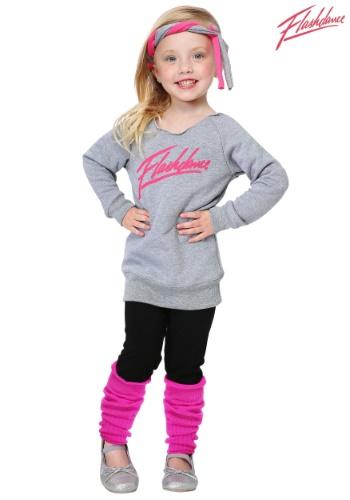 Toddler Flashdance Girls Costume