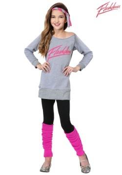 Girl's Flashdance Costume