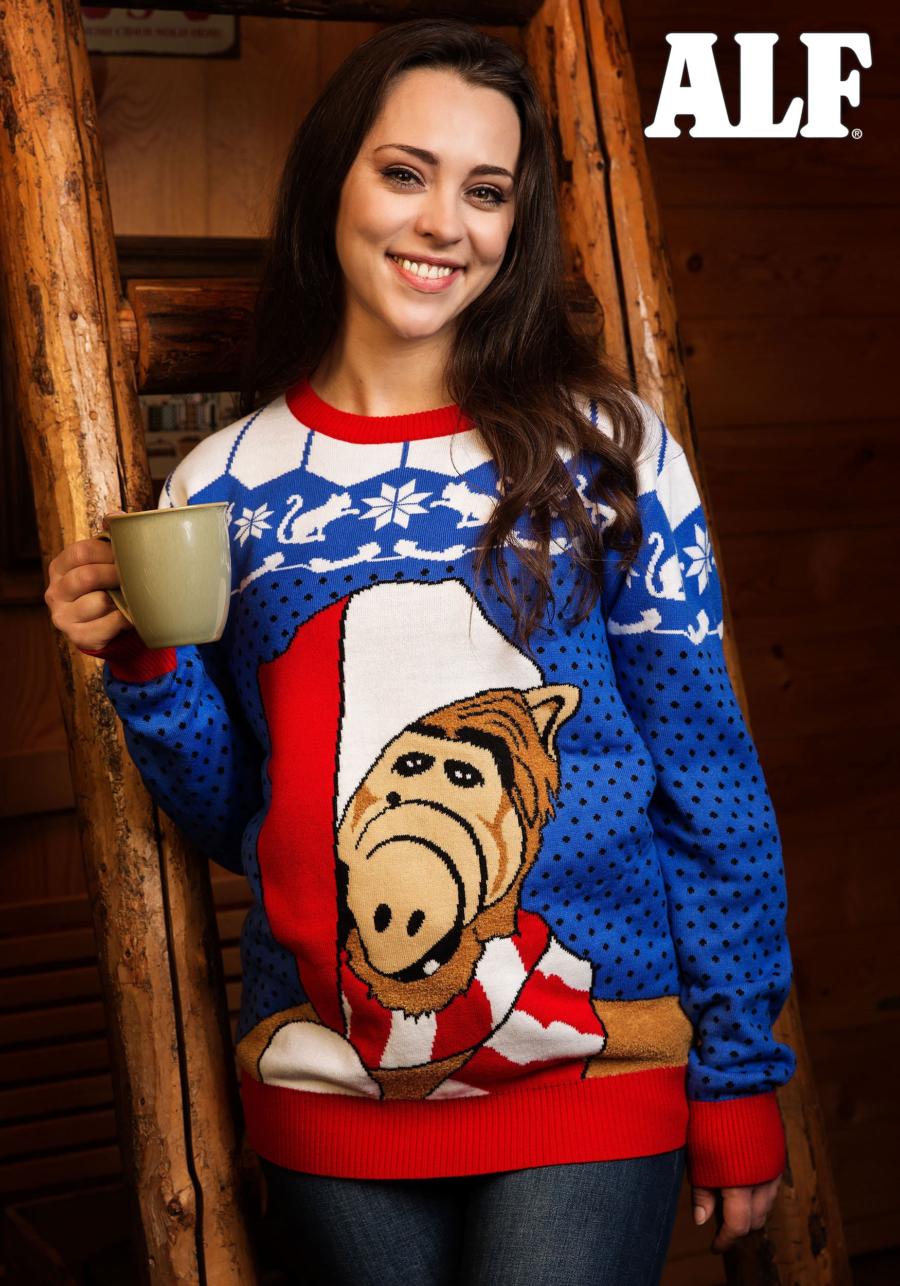 e4c0d6d2b Alf Ugly Christmas Sweater for Adults