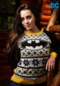 Batman Women's Ugly Christmas Sweater