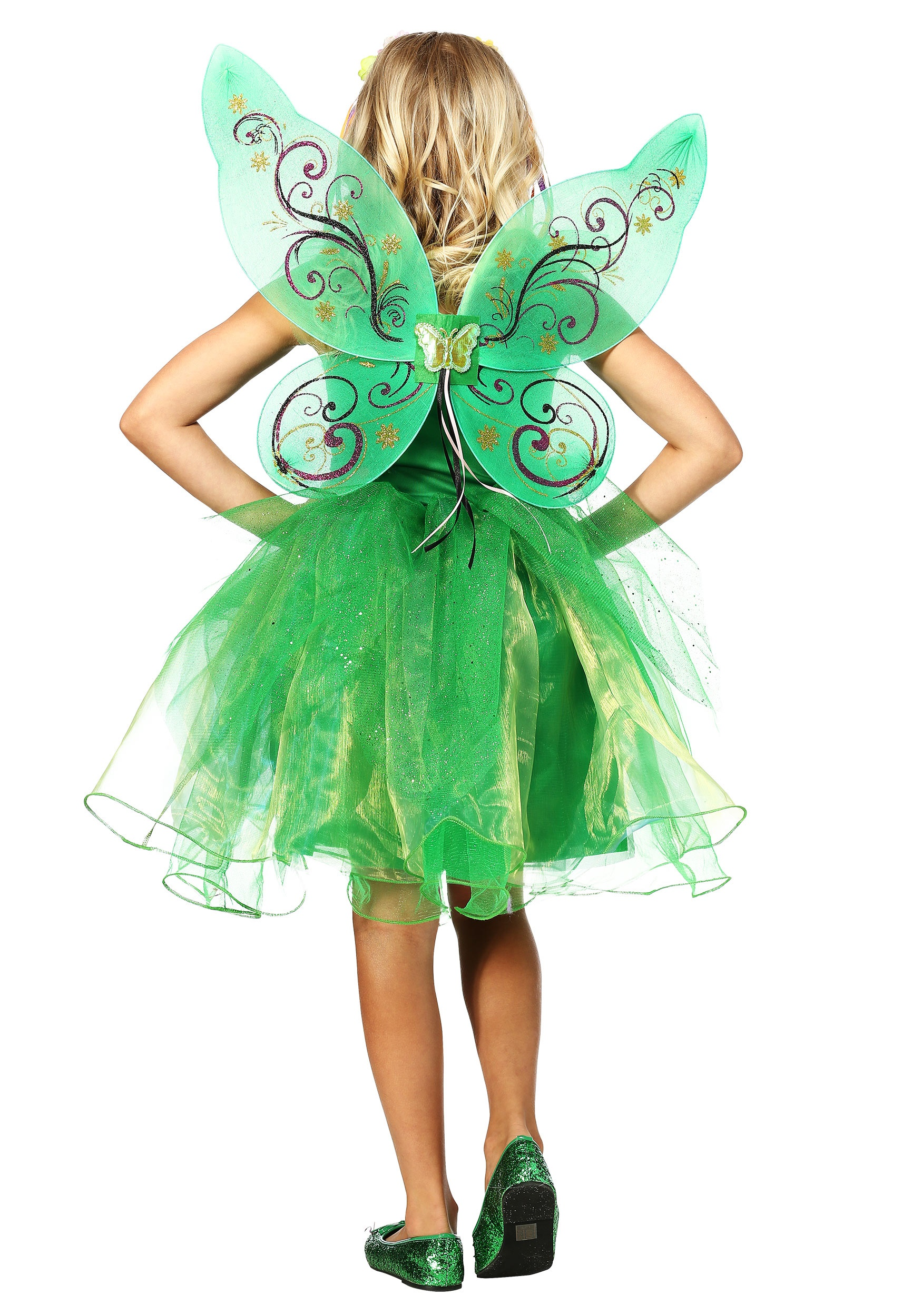 Garden Fairy Costume For Girls Garden Fairy Costume For Girls alt 1  sc 1 st  Fun.com & Kids Garden Fairy Costume