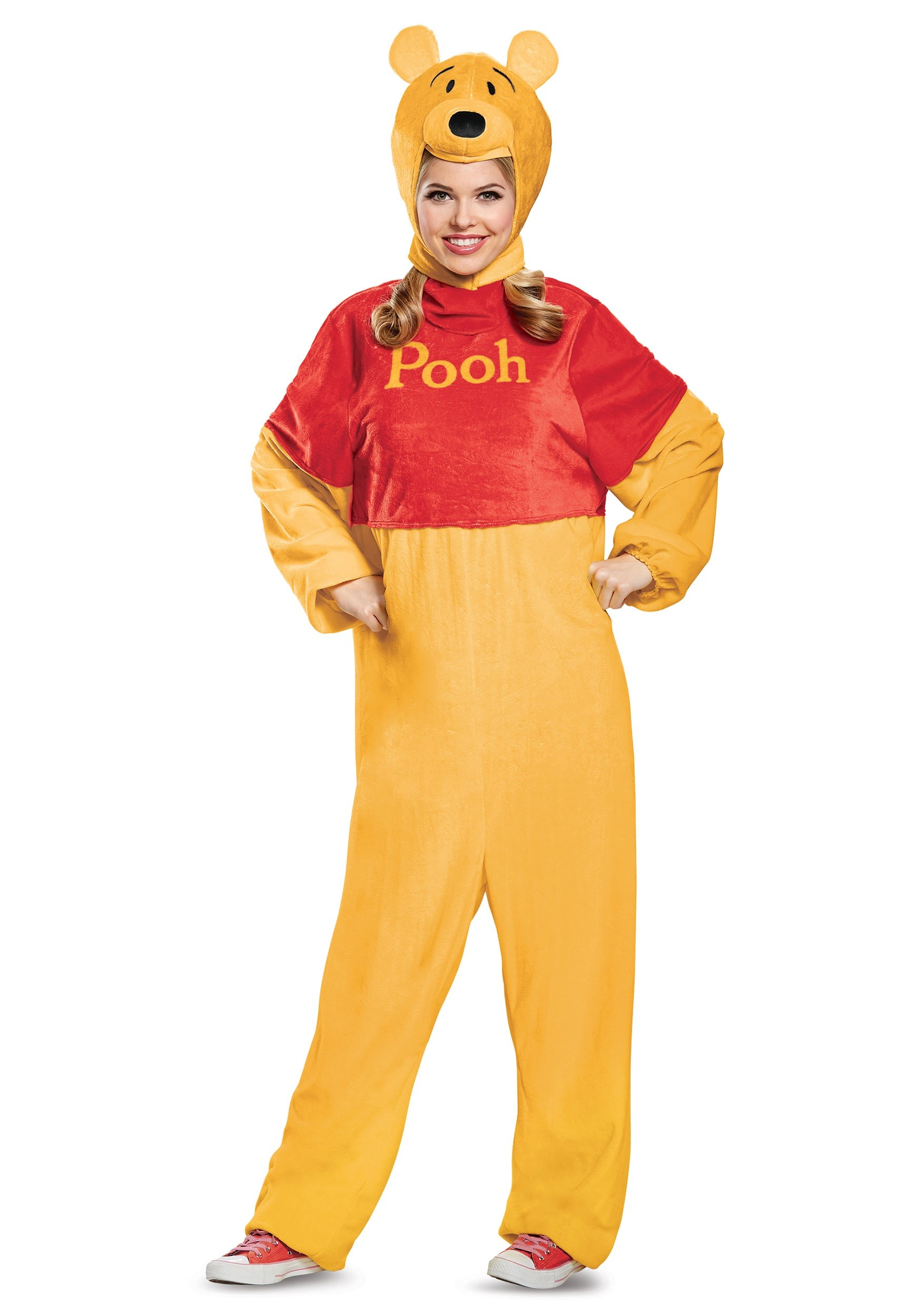 Deluxe Winnie the Pooh Costume for Adults 667eaece7461