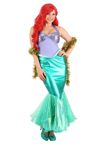 Disney Little Mermaid Ariel Deluxe Adult Costume Upd