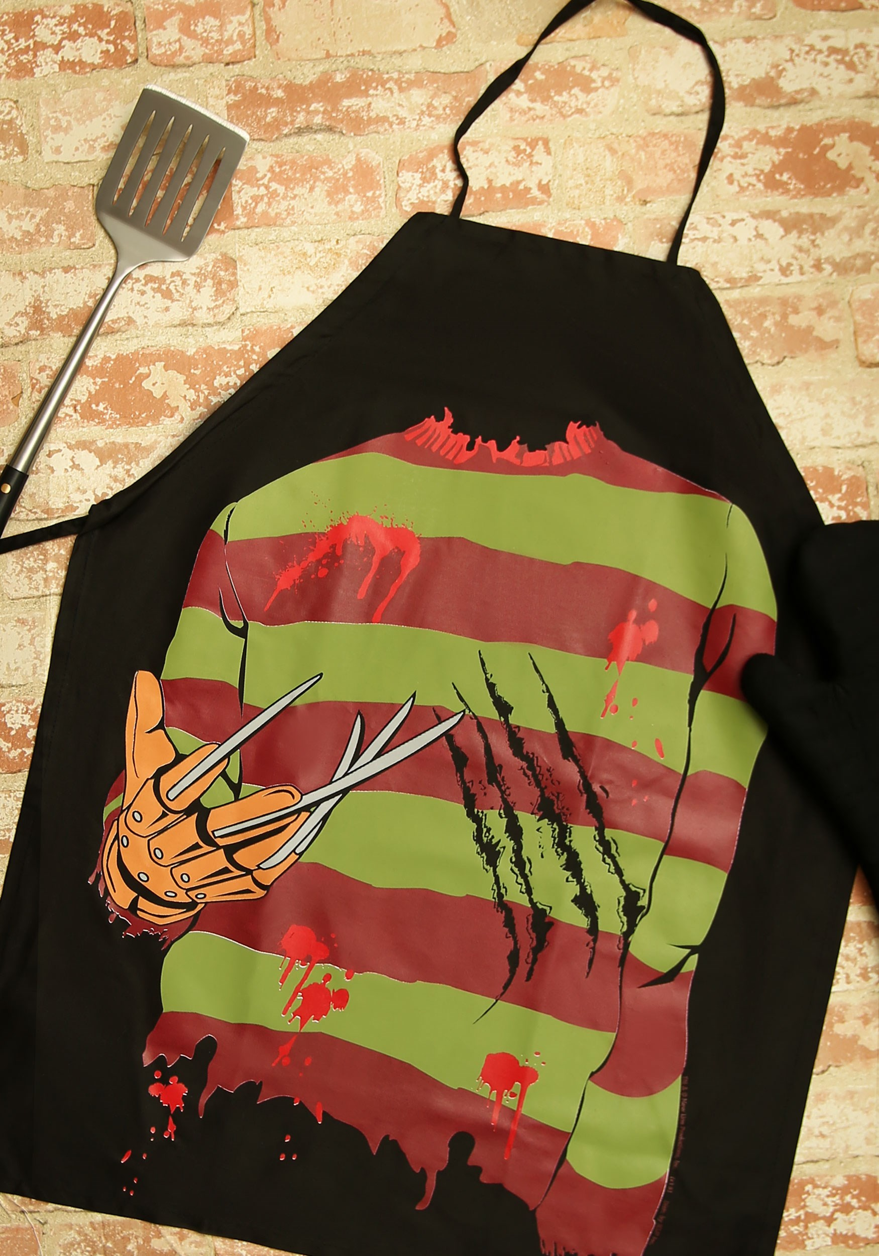 Nightmare on Elm Street Freddy Apron ICU08437
