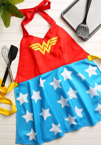 ADULT WONDER WOMAN FASHION APRON
