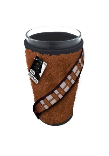 Chewbacca Fur Cooler Sleeve w/ Glass