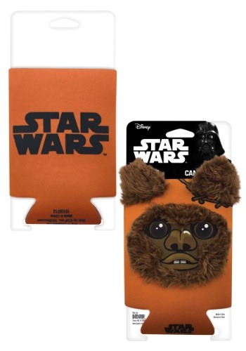 Ewok Fur Can Koozie