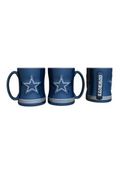 14oz Dallas Cowboys Sculpted Relief Mug
