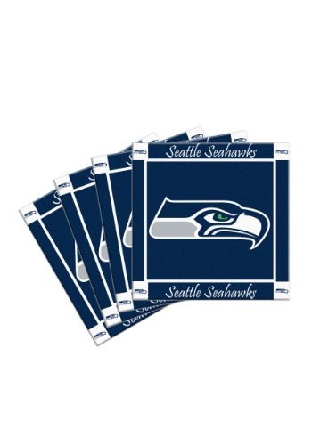 Seattle Seahawks 4-Pack Ceramic Coasters