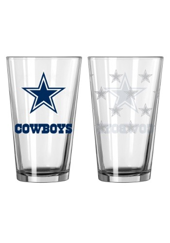 16oz Dallas Cowboys 2-Pack Pint Set