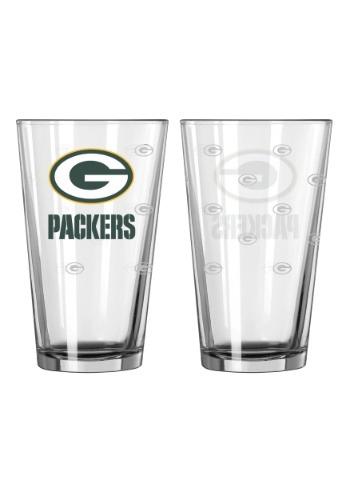 16oz Green Bay Packers 2-Pack Pint Set