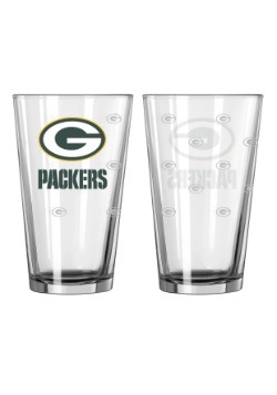 16oz Green Bay Packers 2-Pack Pint Set