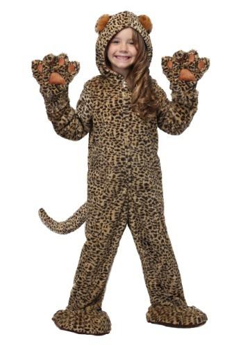 Kids Premium Leopard Costume