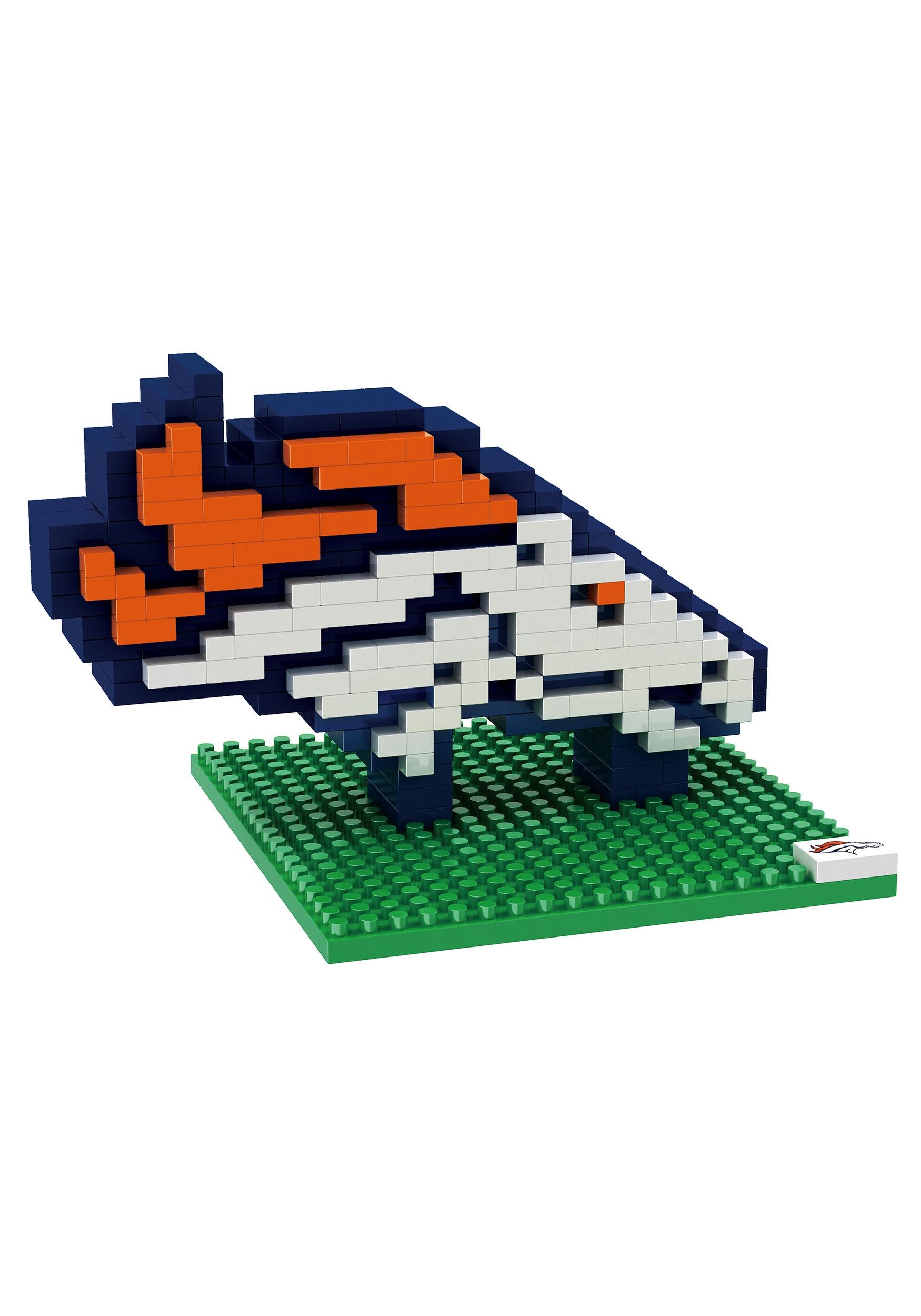 Nfl Denver Broncos Logo Brxlz 3d Puzzle