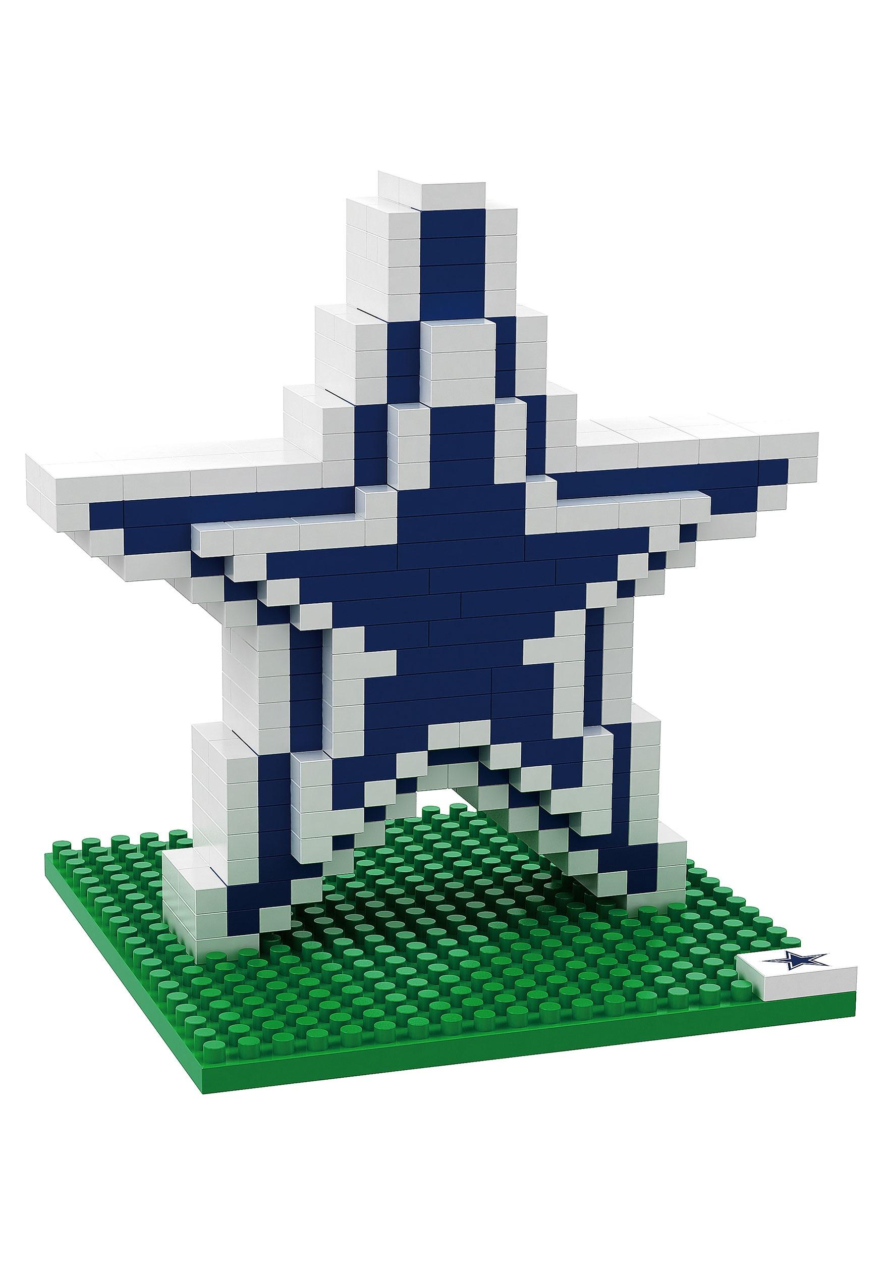 Dallas Cowboys Logo BRXLZ 3D Puzzle