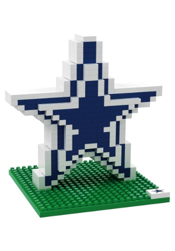 Dallas Cowboys Logo BRXLZ 3D Puzzle