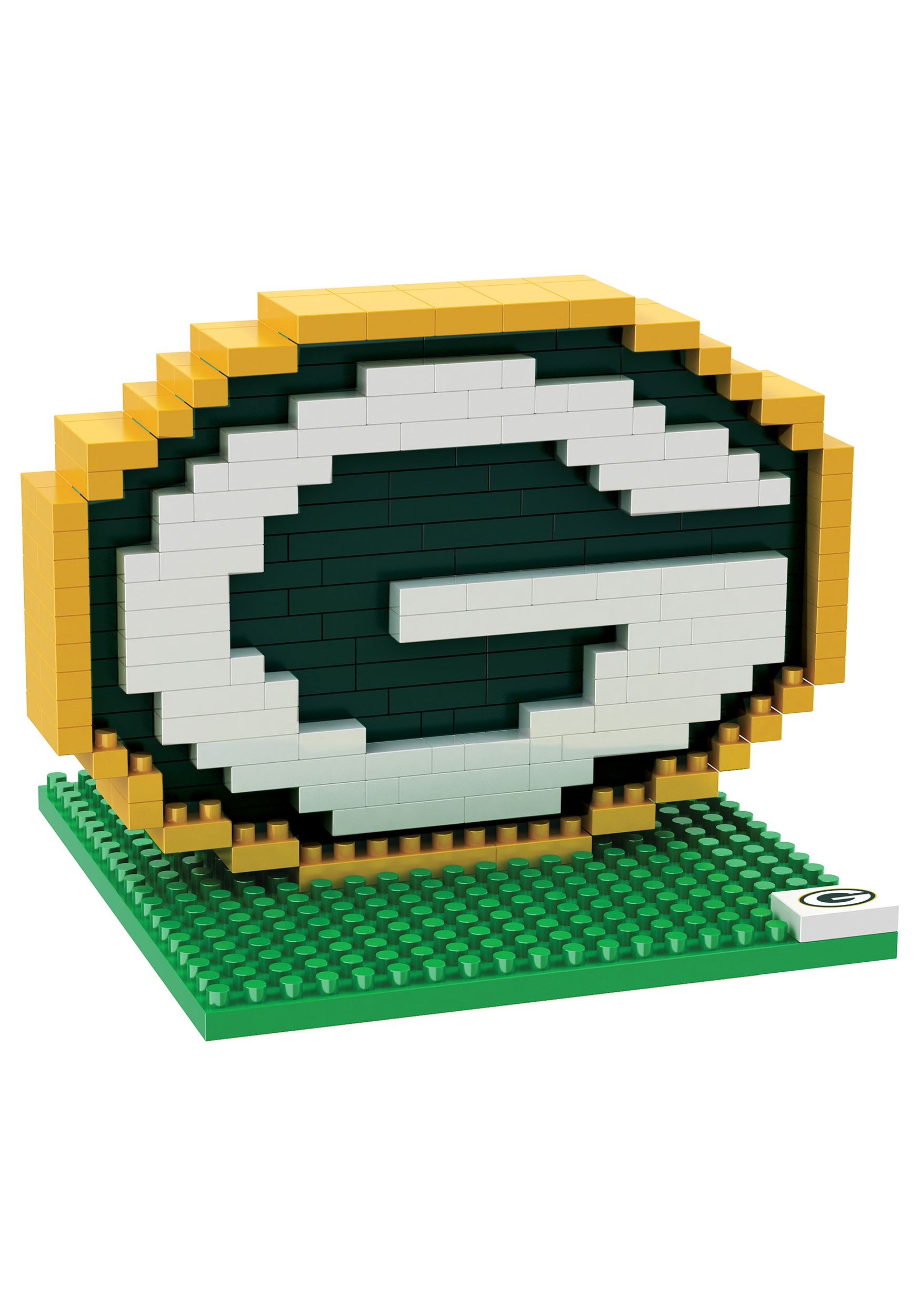 NFL Green Bay Packers Logo BRXLZ 3D Puzzle FLPZNF3DLGGP