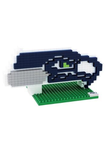 NFL Seattle Seahawks Logo BRXLZ 3D Puzzle