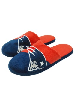 NFL New England Patriots Colorblock Slide Slippers