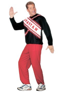 Men's Spartan Cheerleader SNL Costume