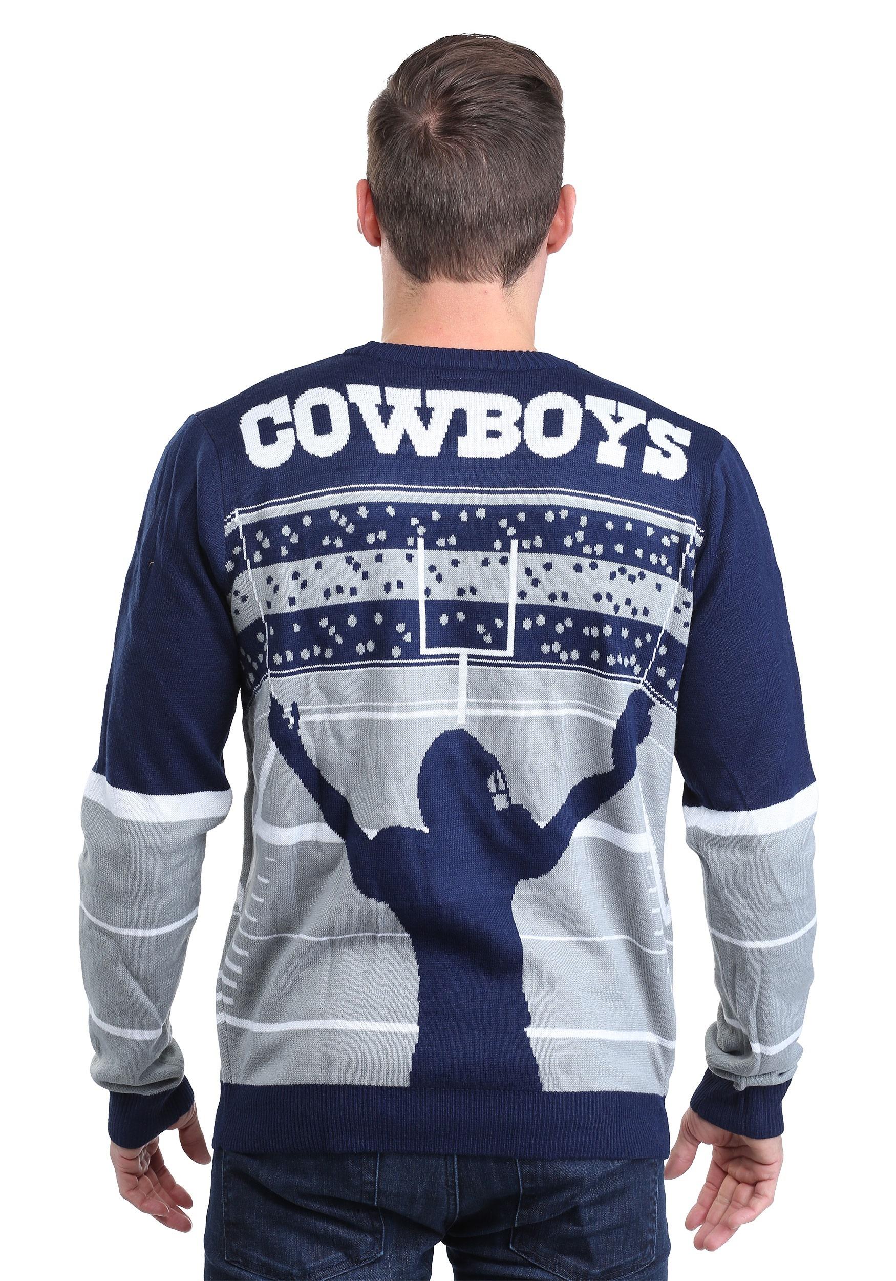 dallas cowboys stadium light up sweater