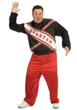 S.N.L. Spartan Plus Size Cheerleader Costume