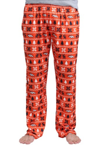 Denver Broncos Holiday Sweat Pants
