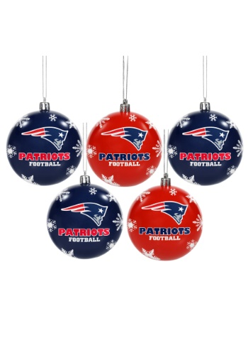 New England Patriots Ornament Set