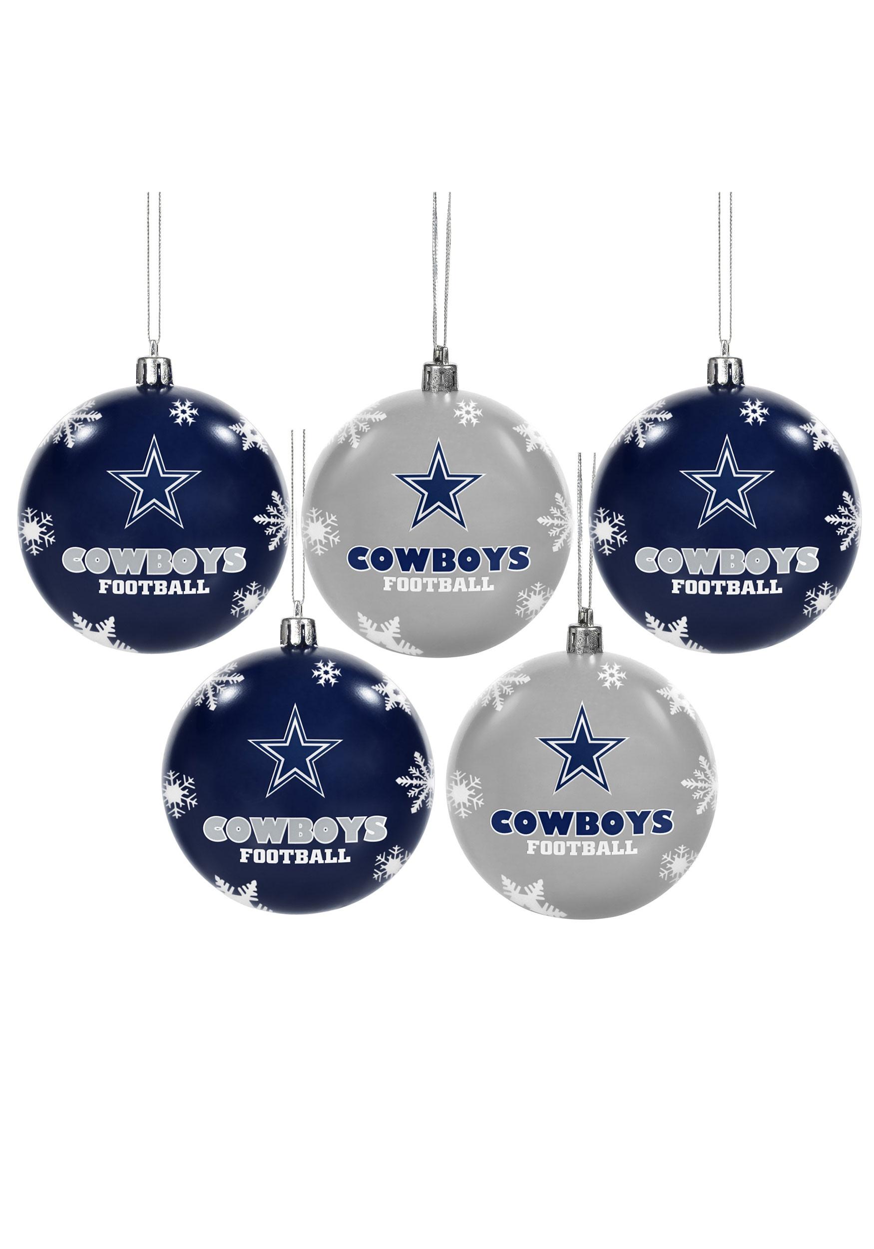 Nfl Dallas Cowboys Ornament Set