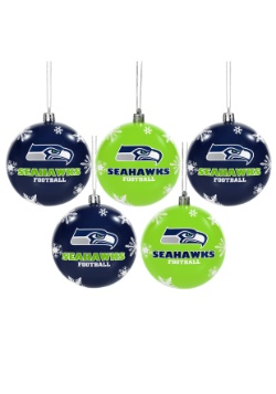 Seattle Seahawks Ornament Set