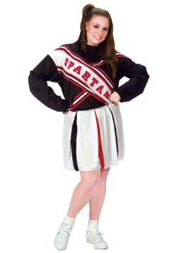 SNL Plus Size Women's Spartan Cheerleader