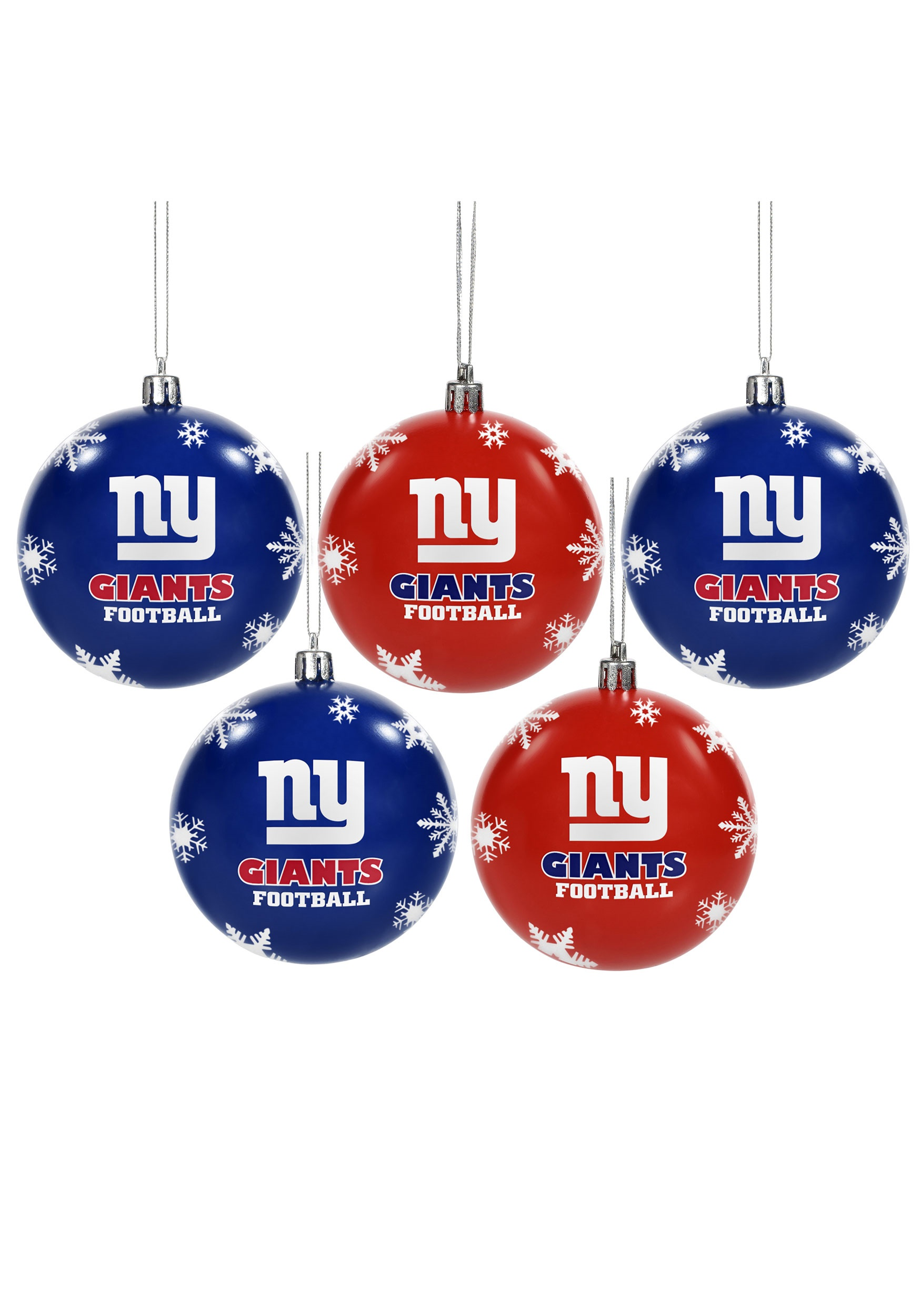 NFL New York Giants Ornament Set