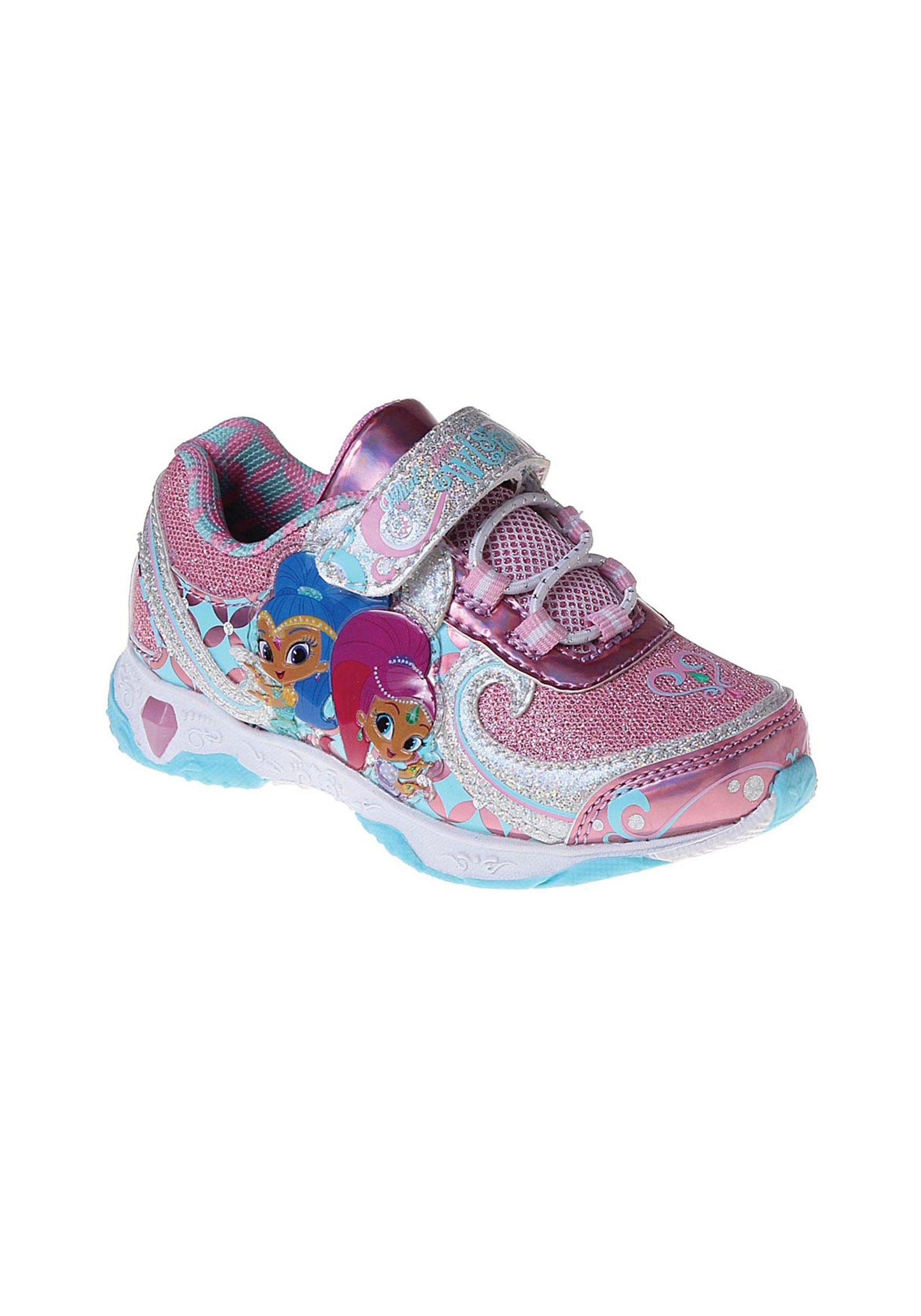 Girls Shimmer and Shine Light Up Sneakers JSCH16499