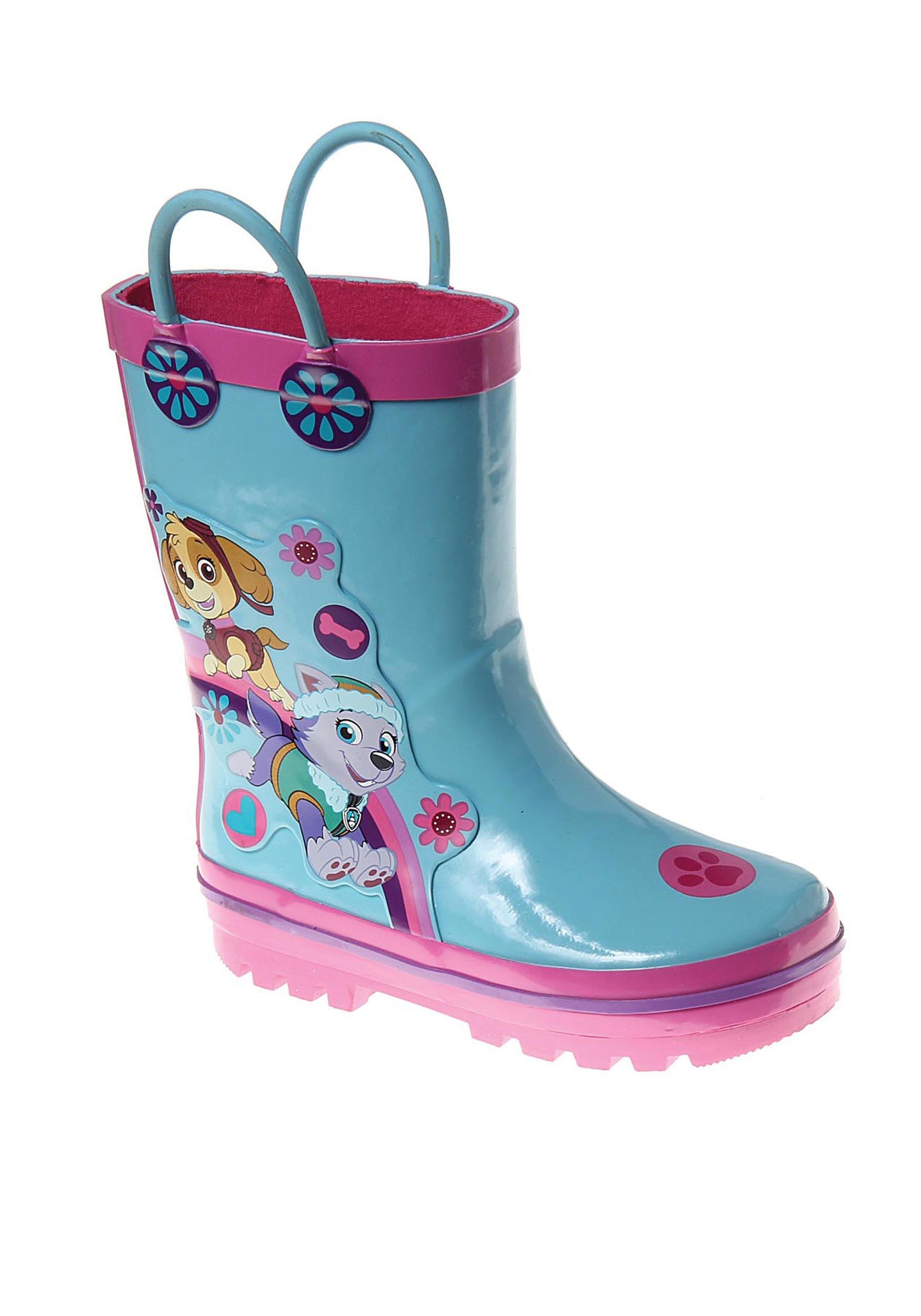 Paw Patrol Skye And Everest Rain Boots For Girls-5440