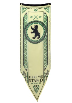 Game of Thrones Mormont Tournament 18x60 Banner