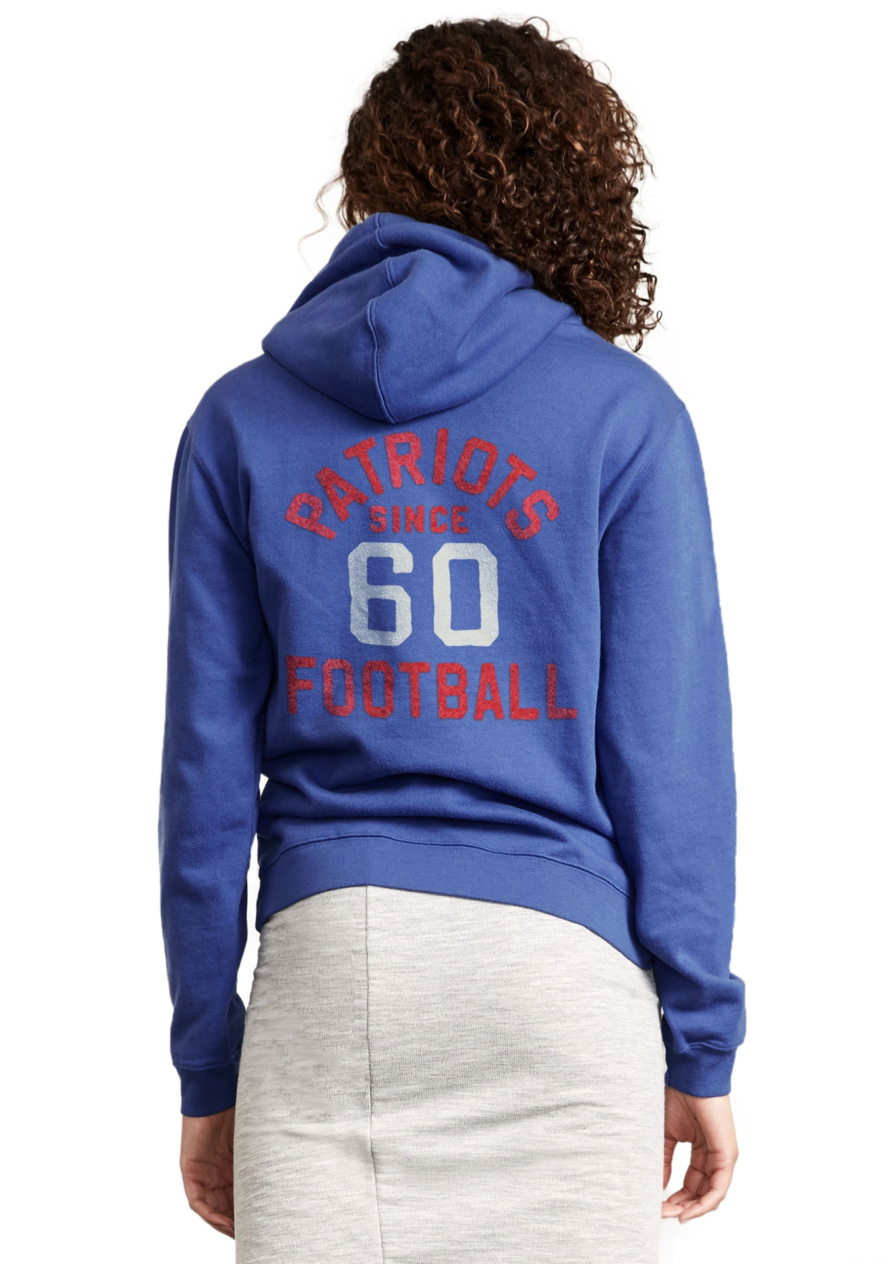 7d214751 NFL New England Patriots Sunday Cowl Neck Women's Hoodie