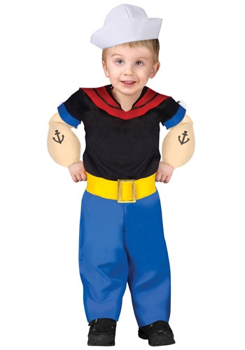 Popeye Toddlers Costume