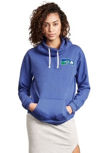 Seattle Seahawks Sunday Cowl Neck Women's Hoodie