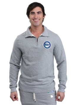 Seattle Seahawks Side Line Quarter-Zip Mens Sweater