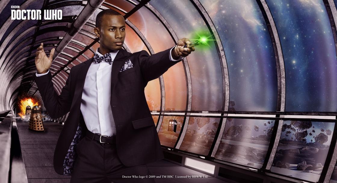 Doctor Who Dalek Subtle Slim Fit Suit Jacket