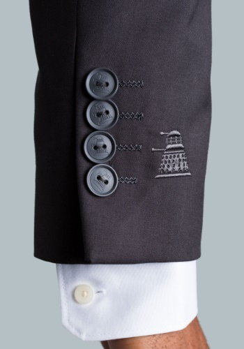 Doctor Who Dalek Subtle Suit Jacket