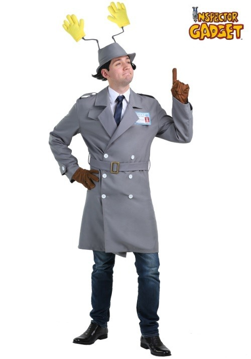 Adult Plus Size Inspector Gadget Costume