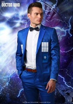 Doctor Who Tardis Formal Suit Jacket upd2