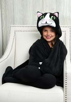 Chloe the Cat Comfy Critters Microfiber Fleece Blanket