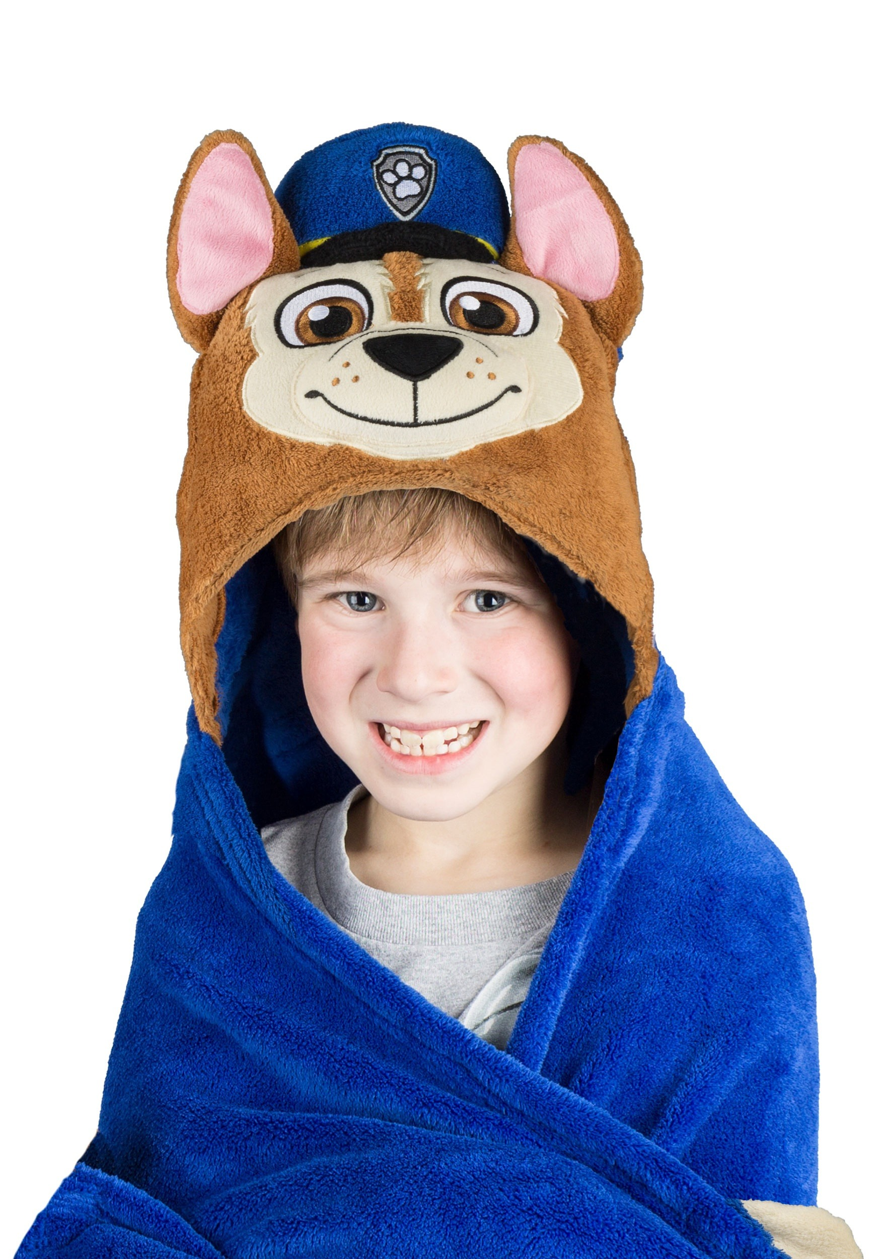Paw Patrol Chase Comfy Critters Costume Blanket