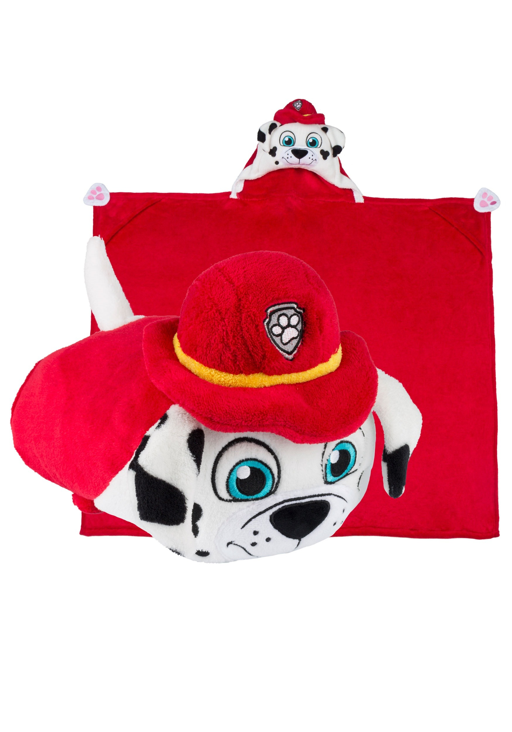 Paw Patrol Marshall Comfy Critters Costume Blanket